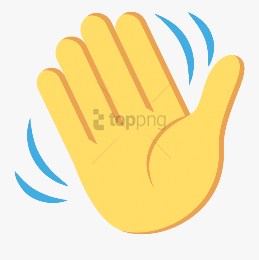 Waving Hand Emoji Black Background Free Transparent Clipart Clipartkey Find & download free graphic resources for black background. waving hand emoji black background