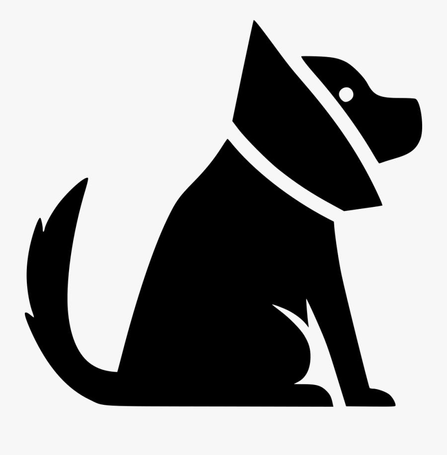 Cat Dog Pet Sitting Elizabethan Collar Clip Art - Perro Con Collar Isabelino Dibujo, Transparent Clipart