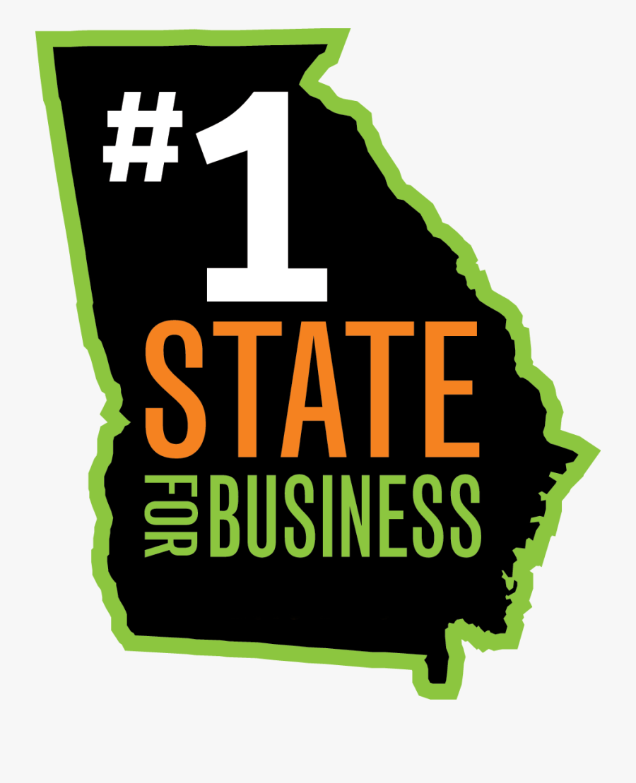 Georgia Org 1 State For Business, Transparent Clipart