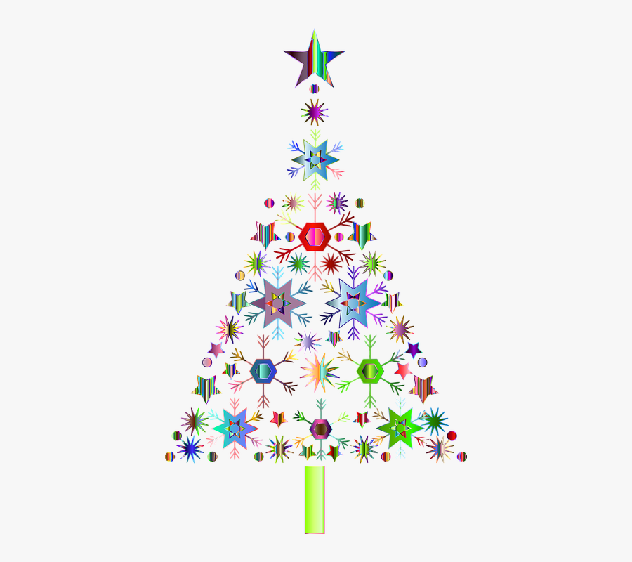 Collection Of Islam Cliparts - Abstract Transparent Background Christmas Tree Clipart, Transparent Clipart