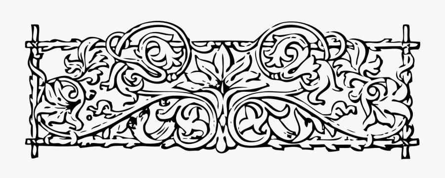 Decoration Edge, Transparent Clipart