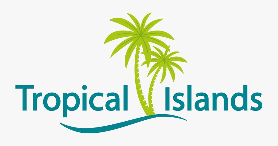 Islands Premium Lodges - Tropical Island Berlin Logo, Transparent Clipart