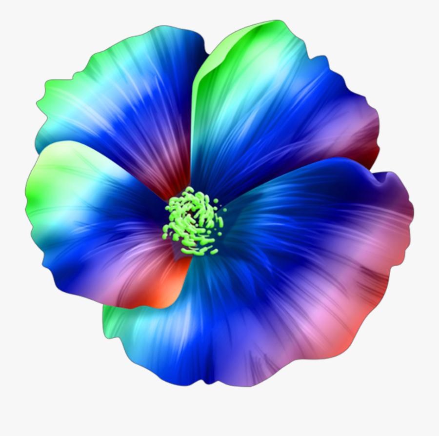 #flower #tropical #hawaiian #island #flowers #colors - Tropical Hawaiian Maui Hibiscus Flower, Transparent Clipart