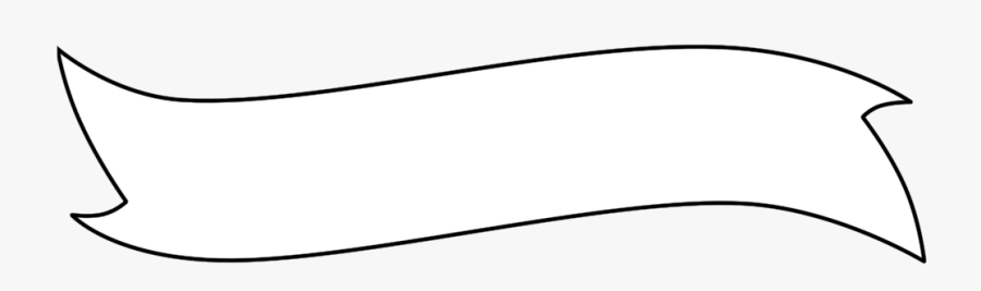 Blank Scroll Banner Png - Blank Banner Template Png, Transparent Clipart
