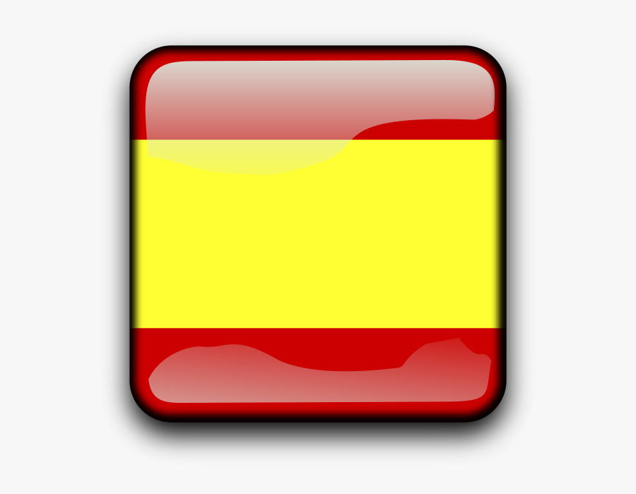 Free Flag Of Denmark Free Es - Spain Square Flag Png, Transparent Clipart