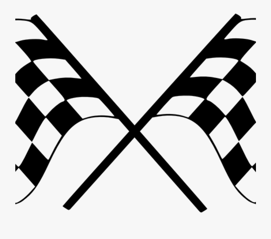 Checkered Flag Free Vector Finish Flag Checkered Car - Racing Flags Transparent Background, Transparent Clipart