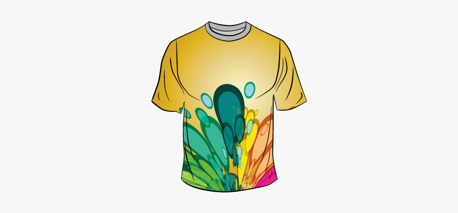 T Shirt Clothing Clip - Color T Shirt Png Vector, Transparent Clipart