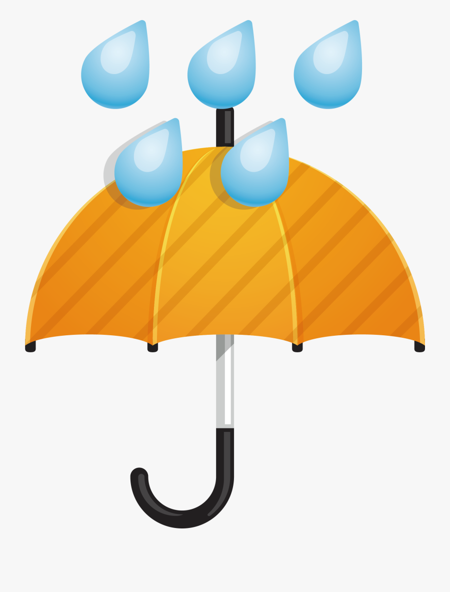 Umbrella Rain Clip Art - Umbrella Rain Clipart Transparent, Transparent Clipart
