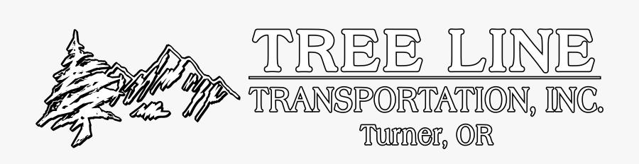 Tree Line Transportation Inc - Calligraphy, Transparent Clipart