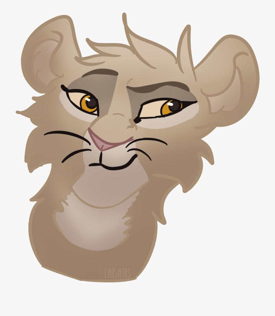 Lioness Whiskers Lion King, Transparent Clipart