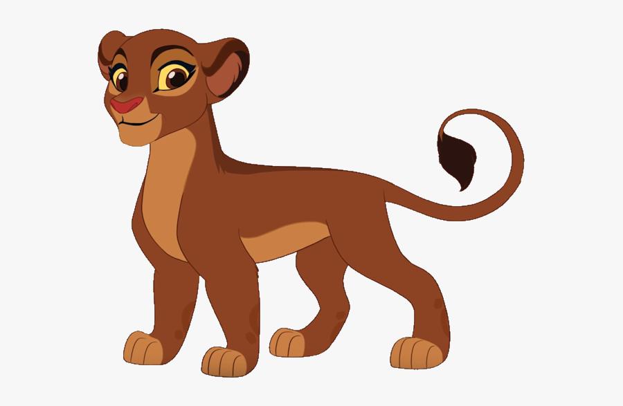 Lion Clip Video - Lion Guard Kion Season 3, Transparent Clipart