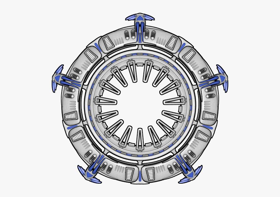 Transparent Ufo Clipart - Sprite Sheet Space Station, Transparent Clipart