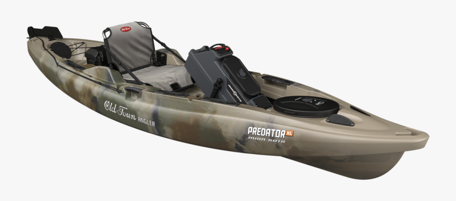 Transparent Kayak Clipart Free - Old Town Predator 13.5, Transparent Clipart