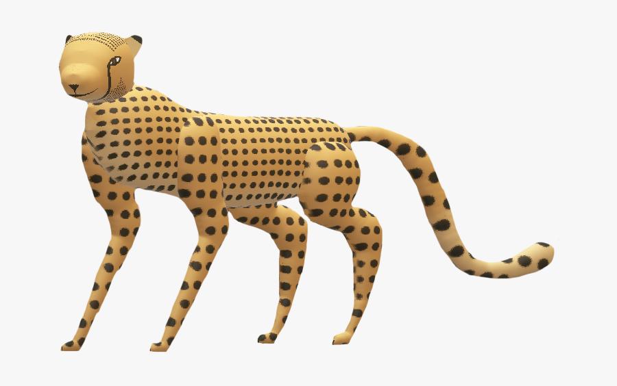 South African Cheetah Cheetah- - Cheetah, Transparent Clipart