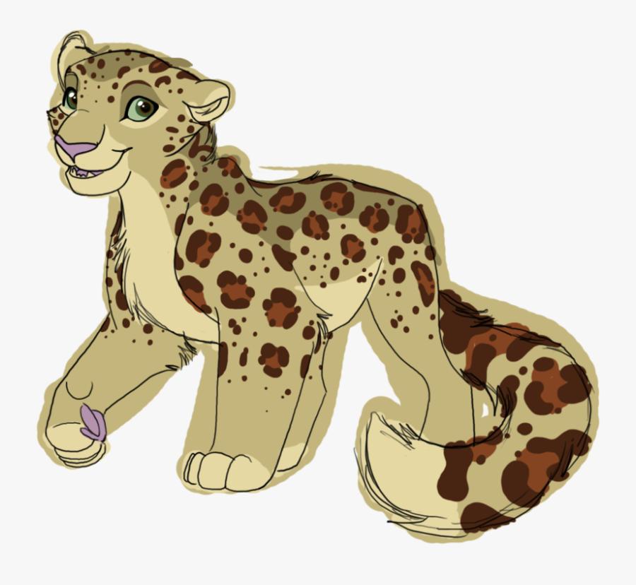 Century Clipart Leopard - Snow Leopard Drawing Base, Transparent Clipart
