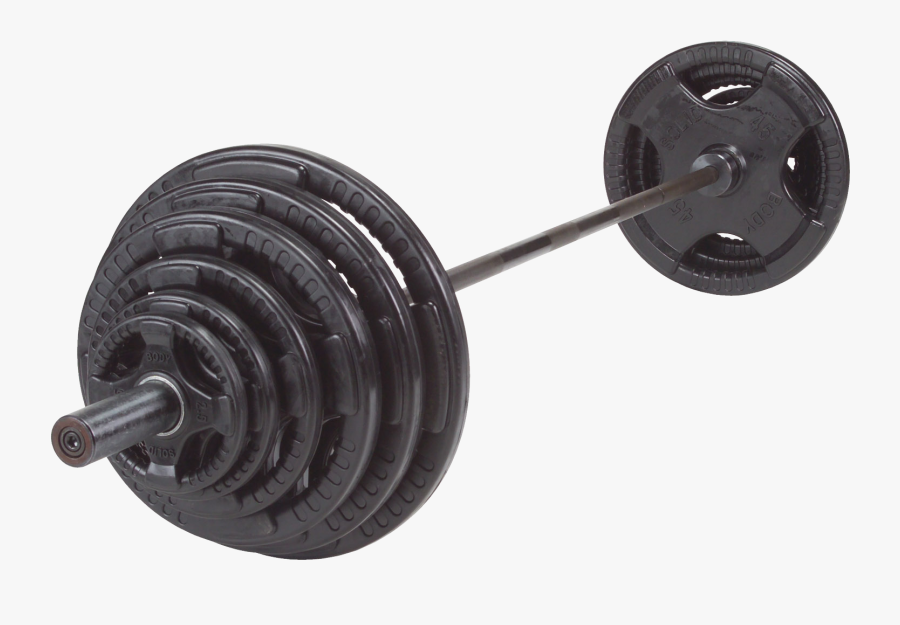 Clip Art Dumbbell Amazon - Body Solid Barbell Set, Transparent Clipart