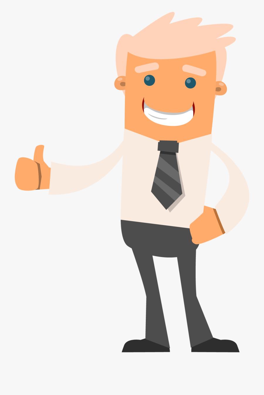 Good Clipart Happy Person - Happy Man Clipart Png, Transparent Clipart