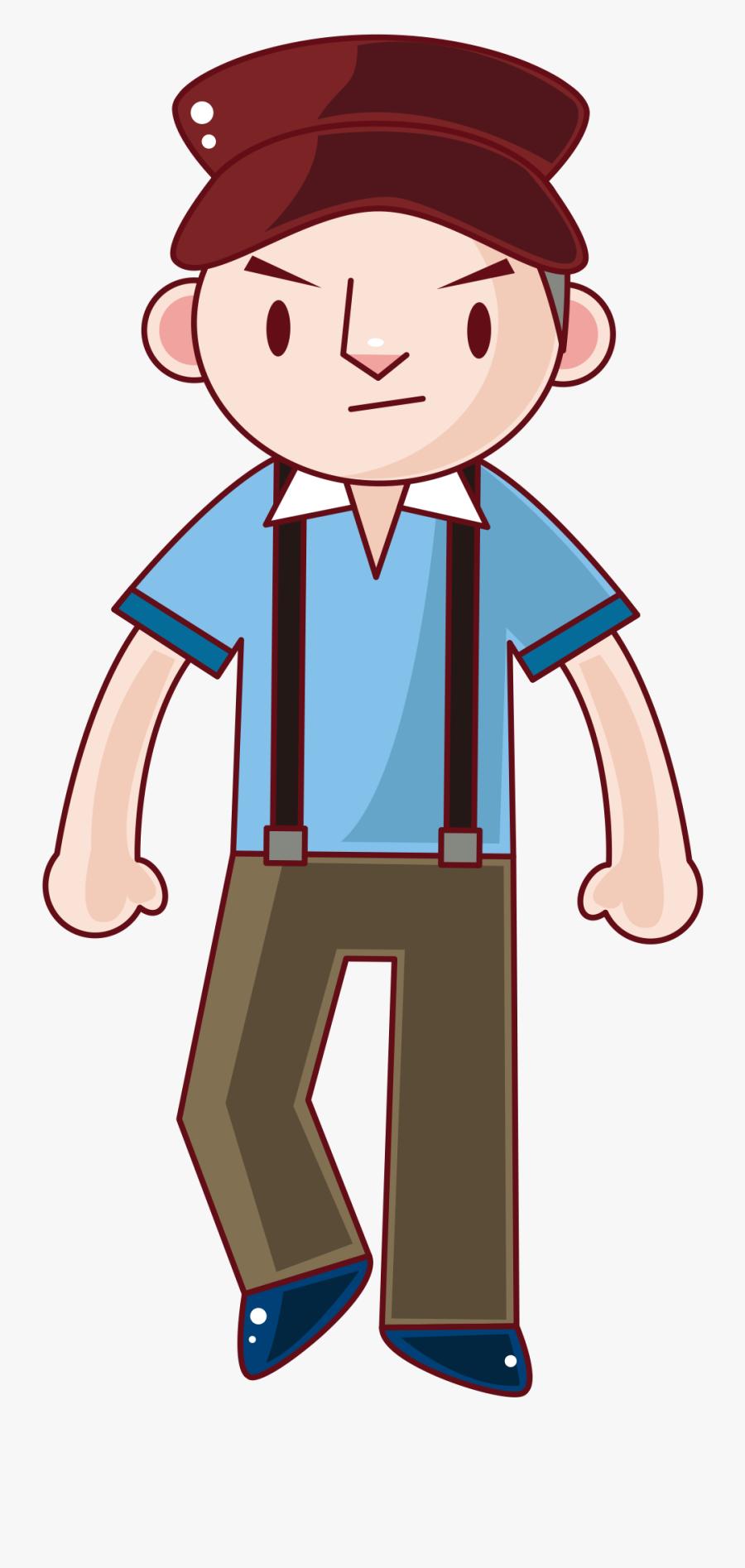Anime Boy Clipart Human Male - Portable Network Graphics, Transparent Clipart