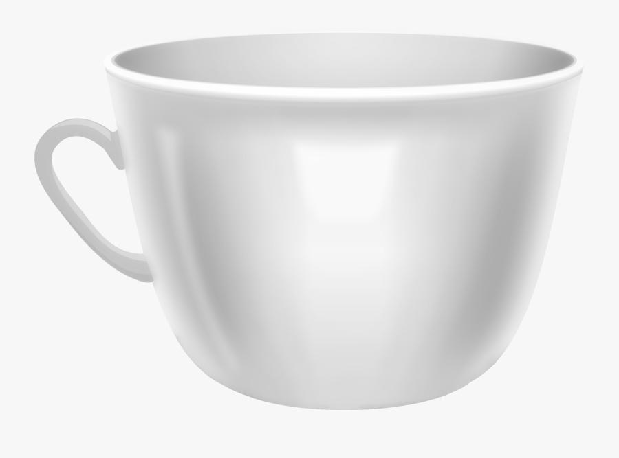 White Coffee Mug Png Clip Art - Mug Clip Art, Transparent Clipart