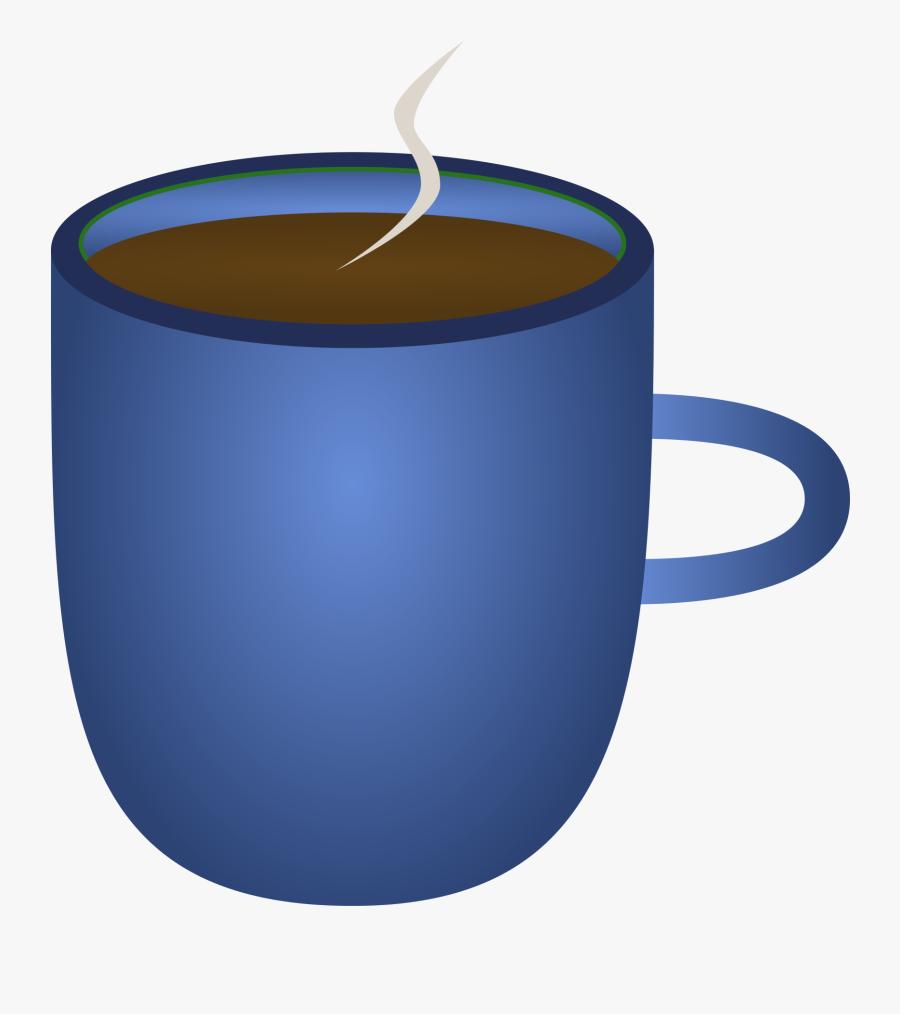 Background Cup Clipart, Explore Pictures - Blue Coffee Mug Transparent, Transparent Clipart