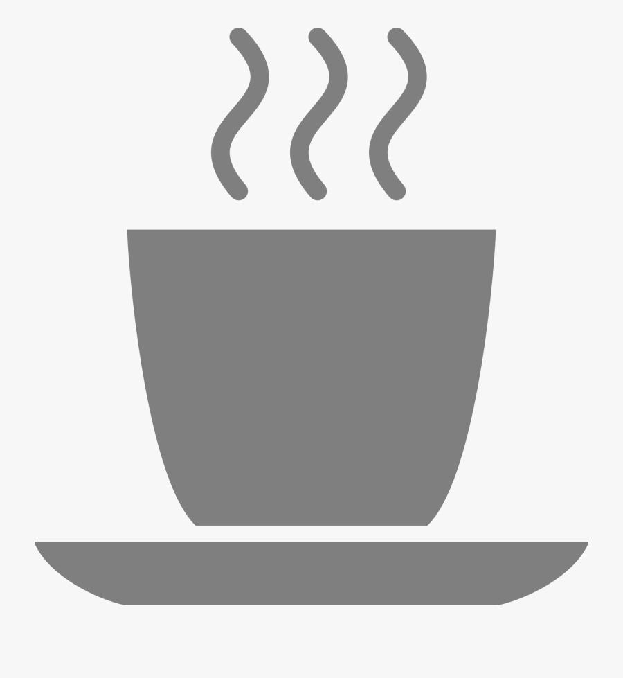 Gray Coffee Mug Svg Clip Arts - Grey Coffee Mug Clip Art, Transparent Clipart