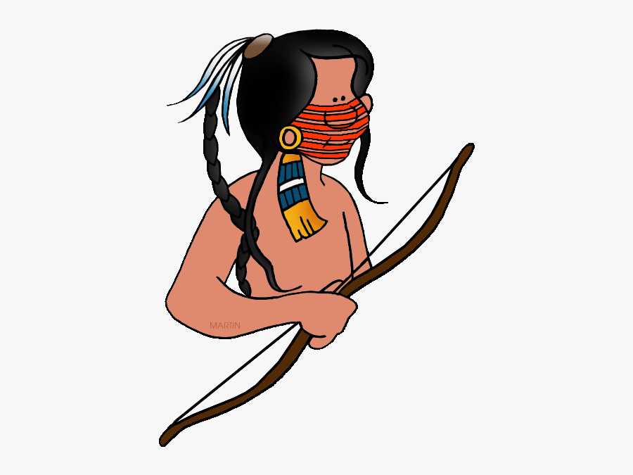 Free Native Americans Clip Art By Phillip Martin, Sioux - Indian Tribe Gif, Transparent Clipart