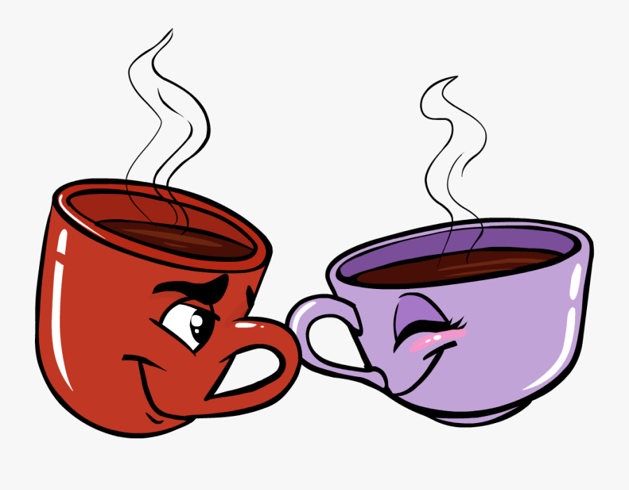 Polo Bar 24 Hour Great British Cafe, London - Cup Clip Art Cartoon Coffee, Transparent Clipart