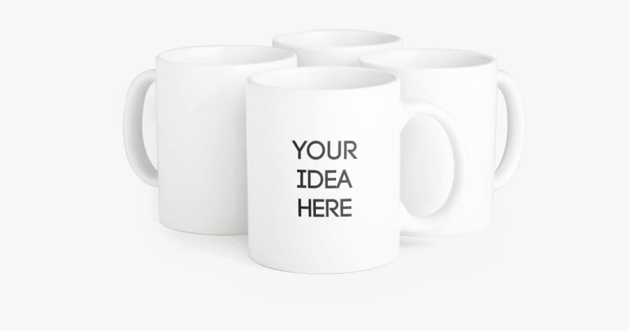 Mugs Clipart Anu - Custom Mugs, Transparent Clipart