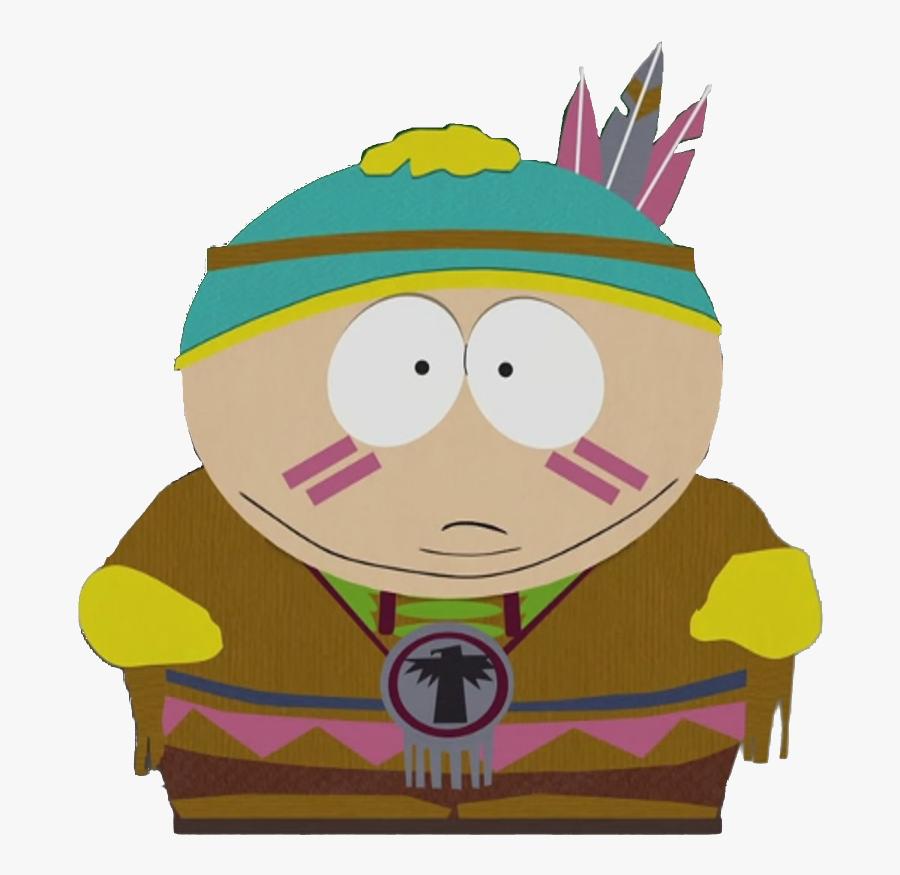 Native American Cartman - South Park Cartman, Transparent Clipart