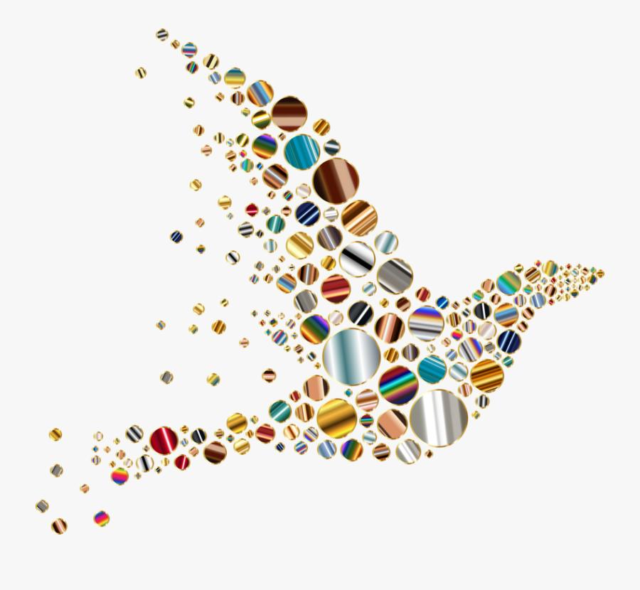 Bird Vectors In A Circle, Transparent Clipart