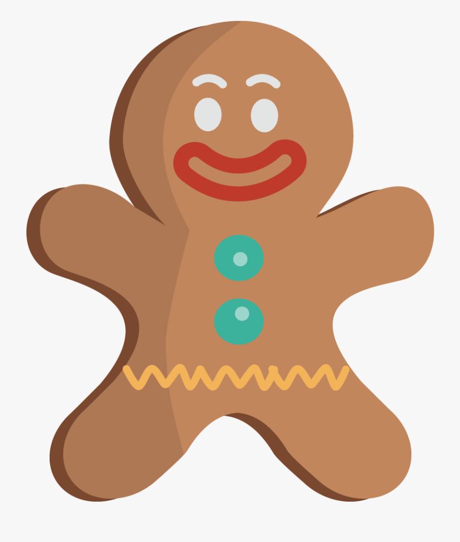 Gingerbread Man Gingerbread Clip Art Clipartix - Gingerbread Man Png, Transparent Clipart