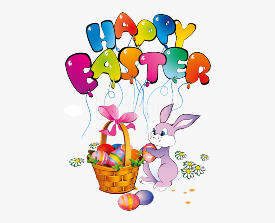 Free Png Download Happy Easter Bunny Transparent Png - Easter Bunny Happy Easter, Transparent Clipart