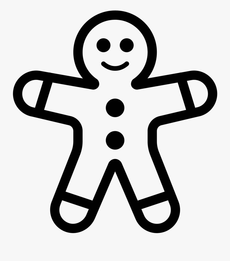 Gingerbread Man Png - Gingerbread Man Vector Clipart, Transparent Clipart