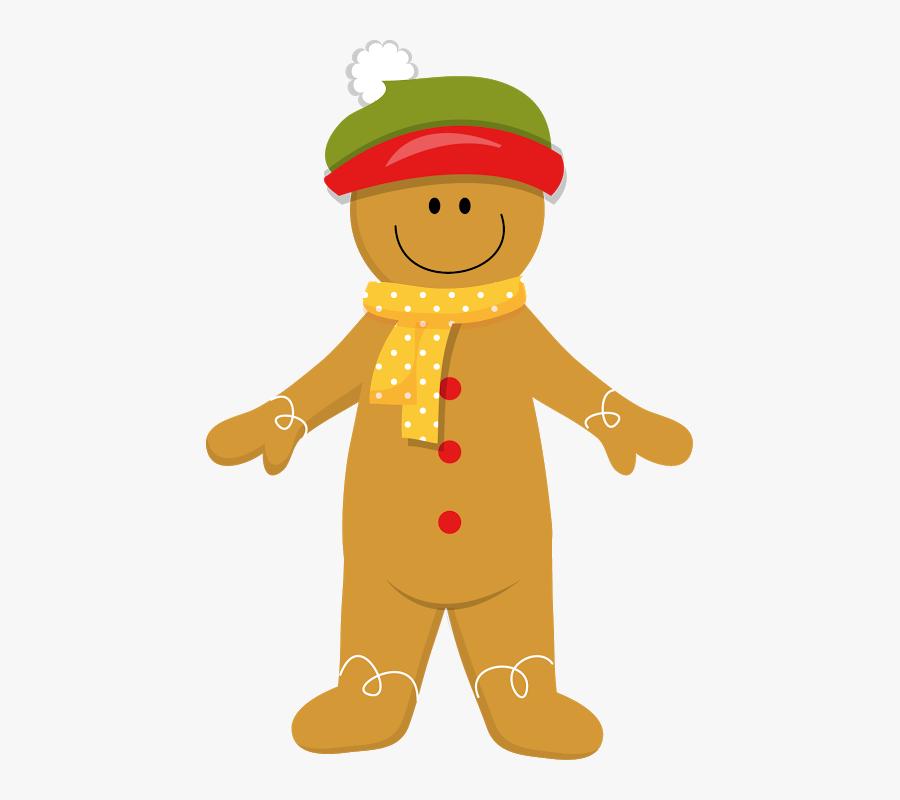 Clip Art Gingerbread Man Christmas, Transparent Clipart