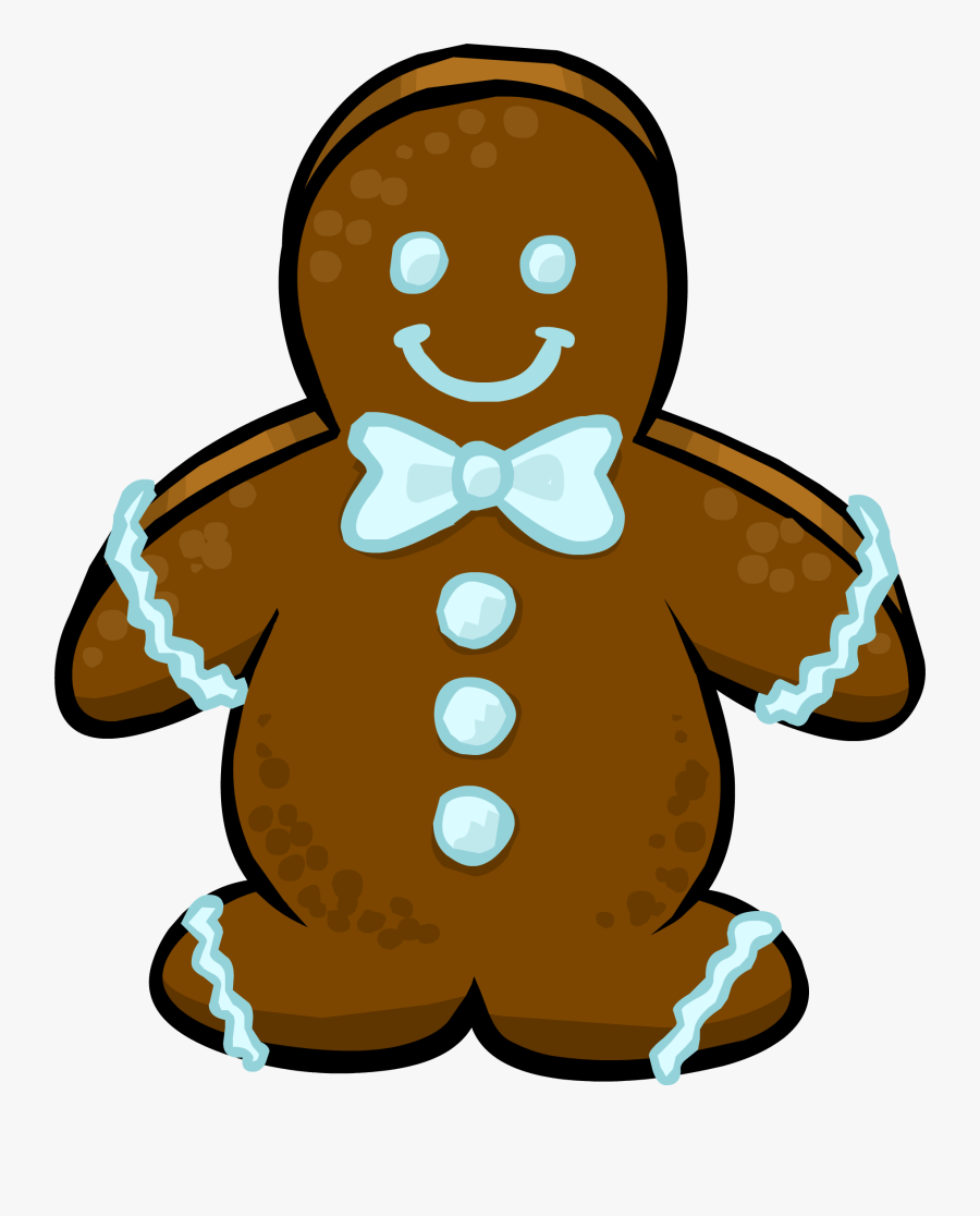 Transparent Gingerbread Man Clipart - Gingerbread Man Sprite, Transparent Clipart
