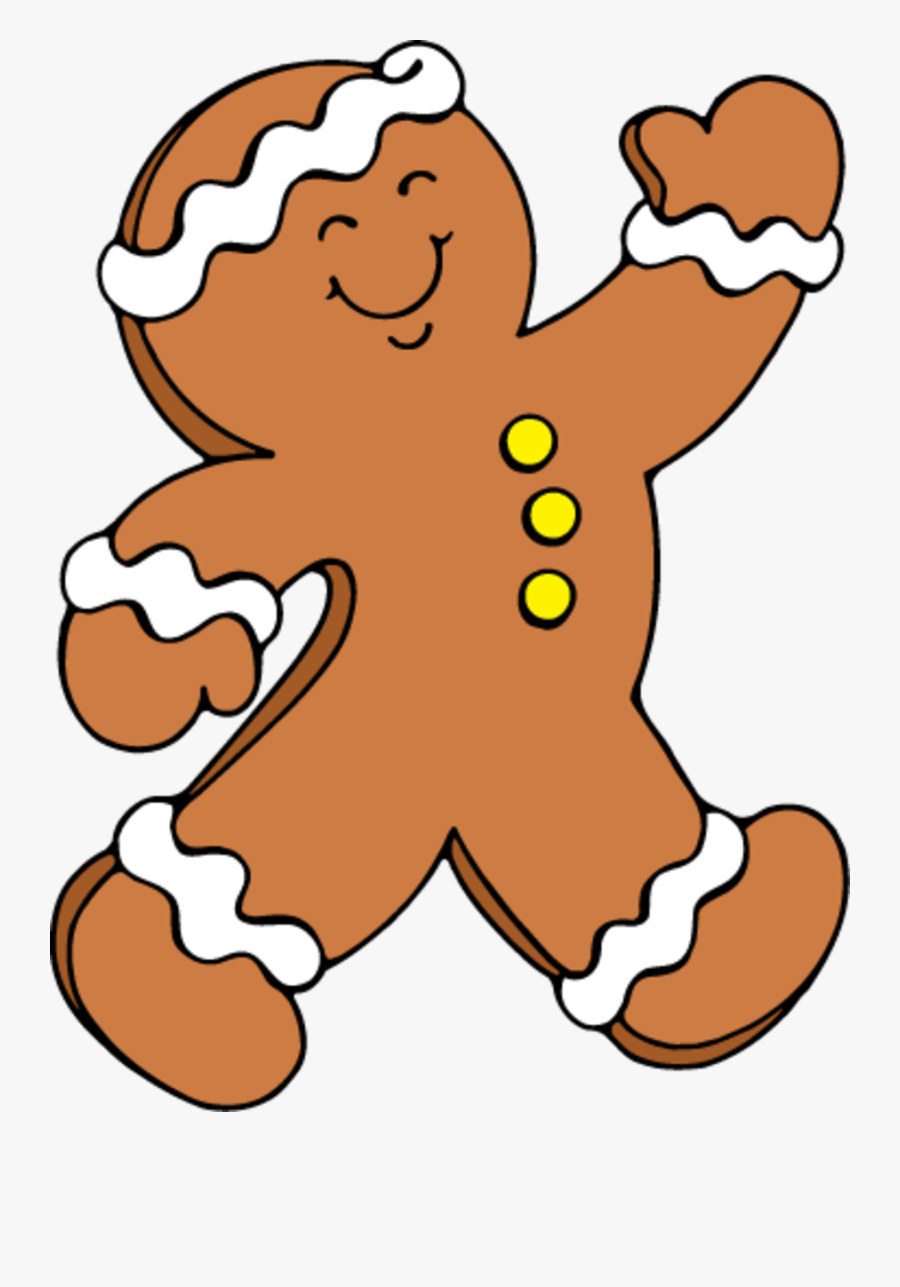 Permalink To Gingerbread Man Clipart - Running Gingerbread Man Clipart, Transparent Clipart