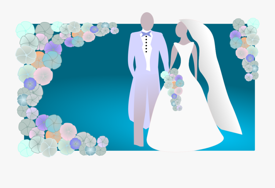 Bride And Groom Clipart Free Wedding Graphics - Bride And Groom Images Clipart, Transparent Clipart