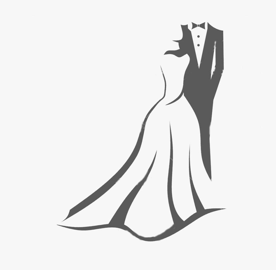 Wedding Invitation Bridegroom Clip Art - Bridal Boutique Logo Designs, Transparent Clipart