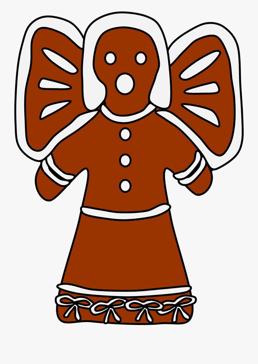 Food,artwork,fictional Character - Gingerbread, Transparent Clipart