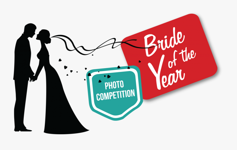 Klerksdorp Record Bride Of The Year Finalists - Free Wedding Couple Silhouette Clipart Png, Transparent Clipart