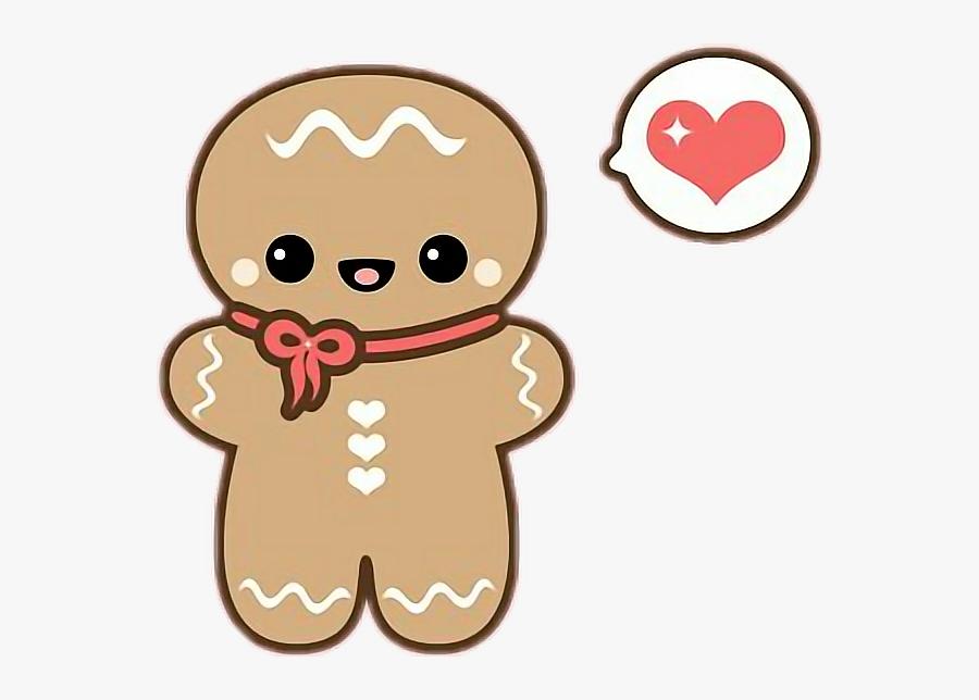 Transparent Gingerbread Cookie Png - Cartoon Cute Gingerbread Man, Transparent Clipart