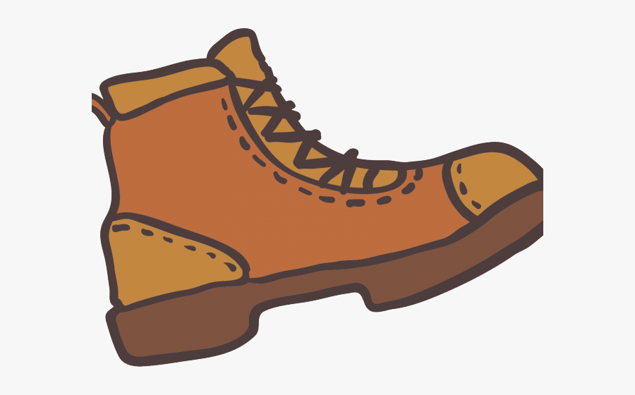 Outdoor Clipart Boot - Hiking Boots Clipart Transparent Background, Transparent Clipart