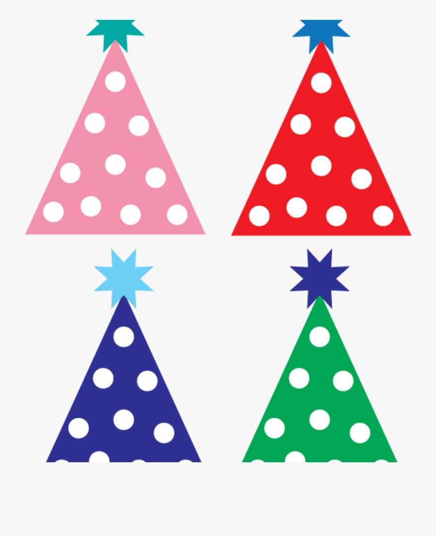 Party Hat Clip Art Free Party Hat Clipart Designs Pinterest - 4 Birthday Hat Clipart, Transparent Clipart
