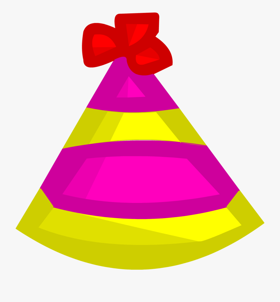 Birthday Hat Clipart Blower - Challenge To Win Party Hat, Transparent Clipart