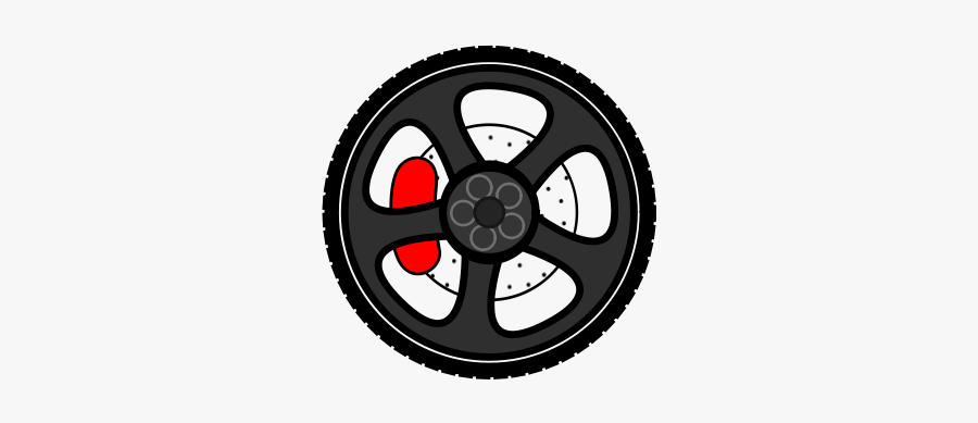 Wheel Large 900pixel Clipart, Wheel Design - Cartoon Car Wheel, Transparent Clipart