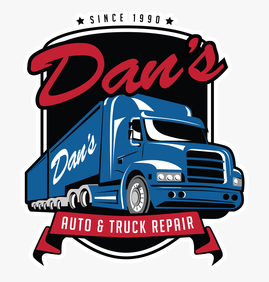 Arlington Auto & Truck Repair - Truck Repair Shop Logo, Transparent Clipart