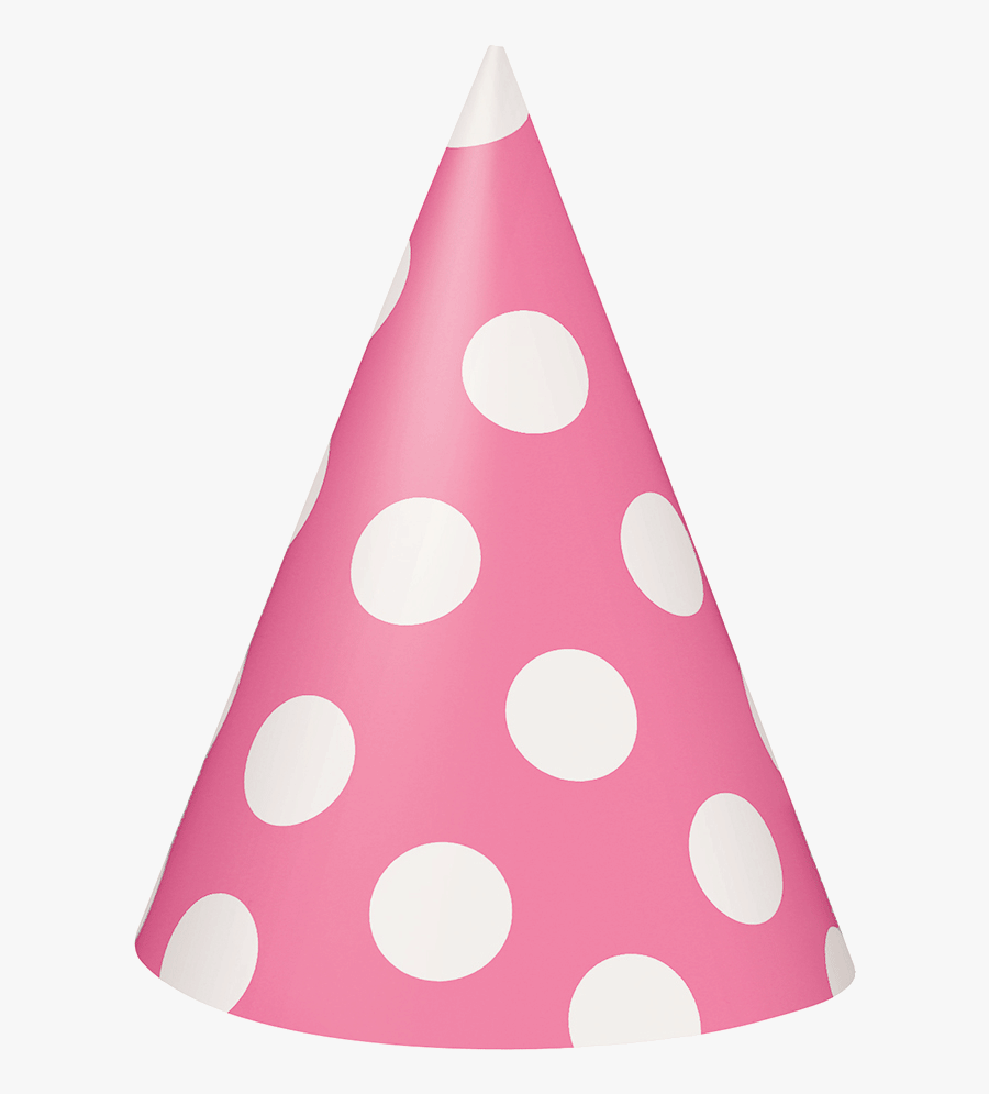 Party Hat Birthday Clipart Image Transparent Png - Polka Dot, Transparent Clipart