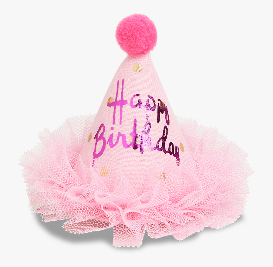 Transparent Birthday Boy Hat Png - Pink Birthday Hat Png, Transparent Clipart