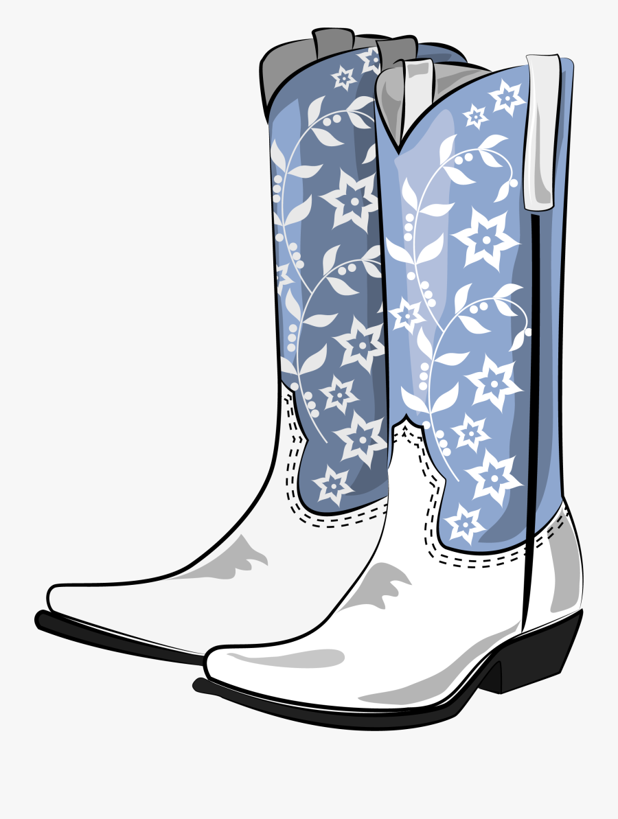 Cowboy Boot Clipart At Free For Personal Use Png Cowboy - Cowboy Boots Graphic Transparent Background , Free Transparent Clipart - ClipartKey