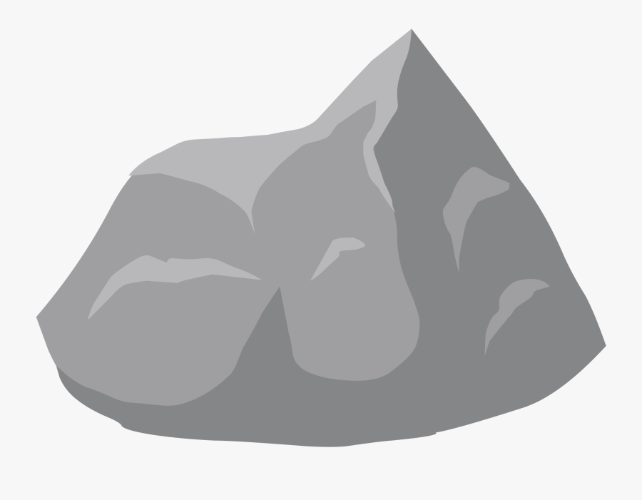 Rock - Clipart - Clip Art Transparent Rock, Transparent Clipart